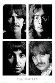 plakat THE BEATLES - WHITE ALBUM