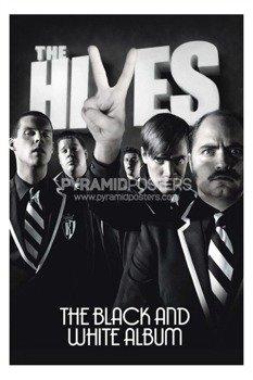 plakat THE HIVES - BLACK & WHITE