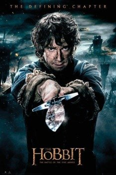 plakat THE HOBBIT - BATTLE OF FIVE ARMIES BILBO