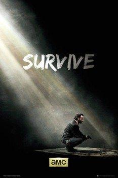 plakat THE WALKING DEAD - SURVIVE