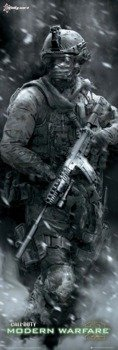 plakat na drzwi CALL OF DUTY MW 2 - COVER