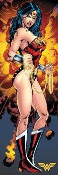 plakat na drzwi DC COMICS - JUSTICE LEAGUE WONDER WOMAN