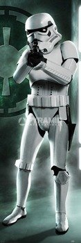 plakat na drzwi STAR WARS - ORIGINAL TRILOGY STORMTROOPER