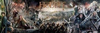 plakat panoramiczny THE HOBBIT - COLLAGE