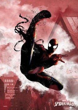 plakat z metalu MARVEL - SPIDER MAN