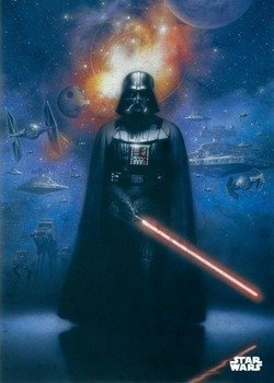 plakat z metalu STAR WARS - POWER OF THE EMPIRE