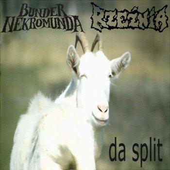 płyta CD: BUNDER NEKROMUNDA / RZEŹNIA - DA SPLIT (split CD)