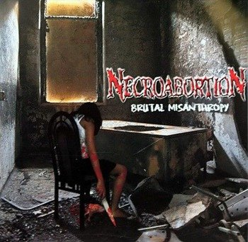 płyta CD: NECROABORTION - BRUTAL MISANTHROPY
