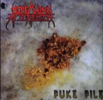 płyta CD: SCREAMING AFTERBIRTH - PUKE PILE