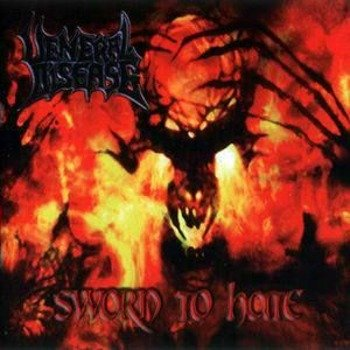 płyta CD: VENERAL DISEASE - SWORN TO HATE