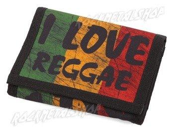 portfel I LOVE REGGAE