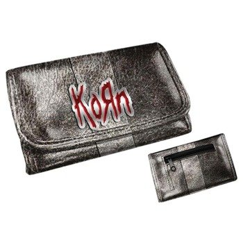 portfel KORN - GIRLS WALLET WITH METAL BADGE