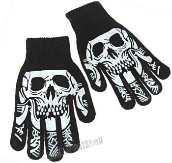 rękawiczki SKULL