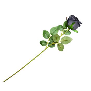 róża czarna BLACK IMITATION ROSE firma ALCHEMY GOTHIC