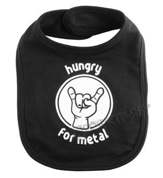 śliniak HUNGRY FOR METAL