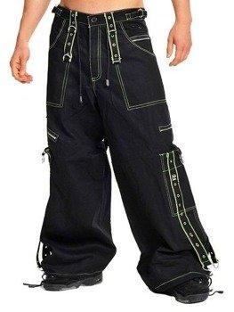 spodnie DEAD THREADS - NEON YELLOW