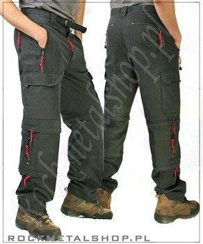 spodnie TREKKING czarne