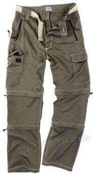 spodnie TREKKING oliwkowe