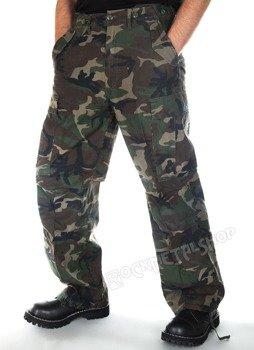 spodnie bojówki M65 VINTAGE woodland