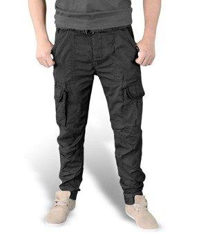 spodnie bojówki PREMIUM TROUSERS SLIMMY BLACK