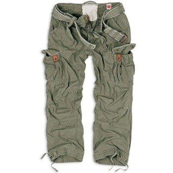 spodnie bojówki PREMIUM VINTAGE OLIVE