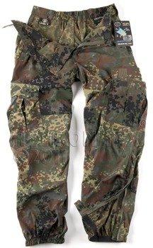 spodnie bojówki SOFT SHELL TROUSERS FLECKTARN