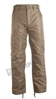 spodnie bojówki THERMO HOSE beige