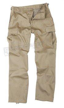 spodnie bojówki US RANGER HOSE TYP BDU KHAKI