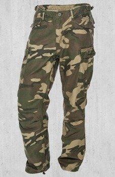 spodnie bojówki WEST COAST CHOPPERS - M-65 CARGO PANTS camo