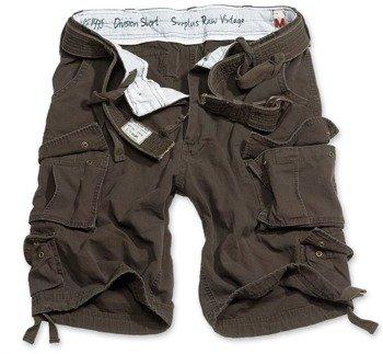 spodnie bojówki krótkie DIVISION SHORTS BROWN