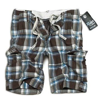 spodnie bojówki krótkie RIDER SHORT - BRAUN