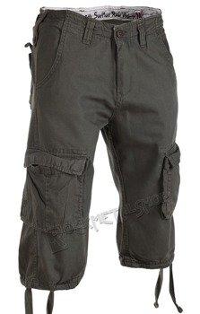 spodnie bojówki krótkie TROOPER LEGEND 3/4 - OLIV