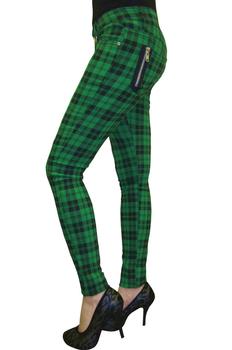 spodnie damskie BANNED - GREEN