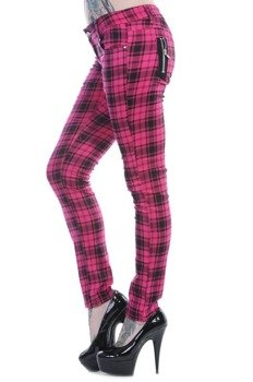 spodnie damskie BANNED - PINK