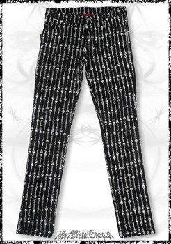spodnie damskie - SKULL & BONES