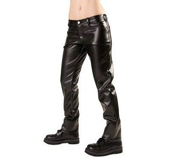 spodnie unisex CLOSE PANTS SKY black
