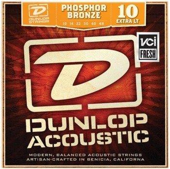 struny do gitary akustycznej JIM DUNLOP - 80/20 BRONZE DAB1048 /010-048/