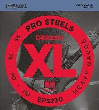 struny do gitary basowej D'ADDARIO EPS230 /055-110/