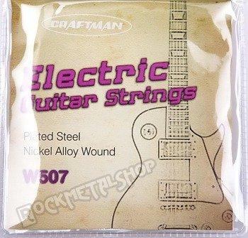 struny do gitary elektrycznej CRAFTMAN NICKEL WOUND W507-L /010-046/