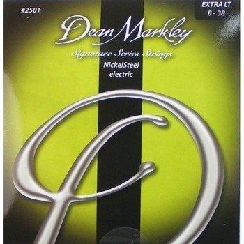 struny do gitary elektrycznej DEAN MARKLEY 2501 Extra LT /008-038/