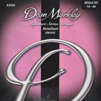 struny do gitary elektrycznej DEAN MARKLEY 2503 NickelSteel Regular /010-046/