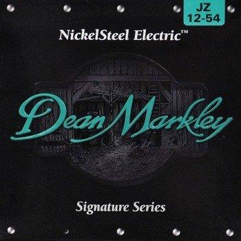struny do gitary elektrycznej DEAN MARKLEY JZ 12-54 NickelSteel JAZZ /012-054/
