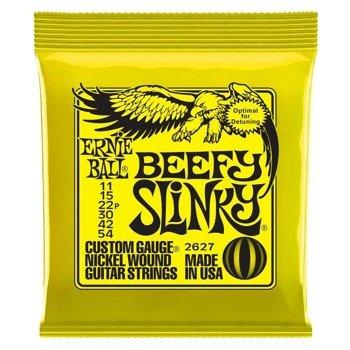 struny do gitary elektrycznej ERNIE BALL Beefy Slinky EB2627 /011-054/