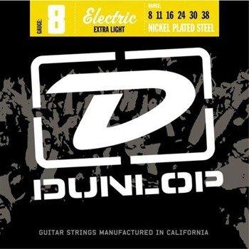 struny do gitary elektrycznej JIM DUNLOP - NICKEL PLATED STEEL /008-038/ (DEN1006)