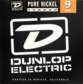struny do gitary elektrycznej JIM DUNLOP - NICKEL WOUND /009-042/ Light (DEN0942)