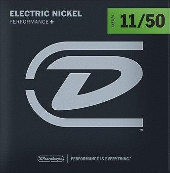 struny do gitary elektrycznej JIM DUNLOP - NICKEL WOUND /011-050/ (DEN1150)