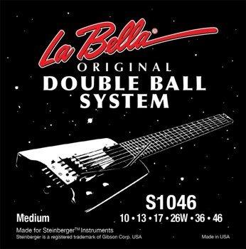 struny do gitary elektrycznej LA BELLA S1046 Double Ball REGULAR /010-046/