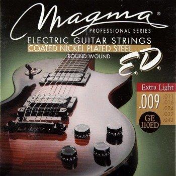 struny do gitary elektrycznej MAGMA E.D. - GE110ED PROFESSIONAL - Extra Light /009-042/