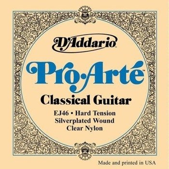 struny do gitary klasycznej D'ADDARIO EJ46 PRO·ARTE /028-044/
