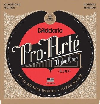 struny do gitary klasycznej D'ADDARIO - PRO ARTE EJ47
